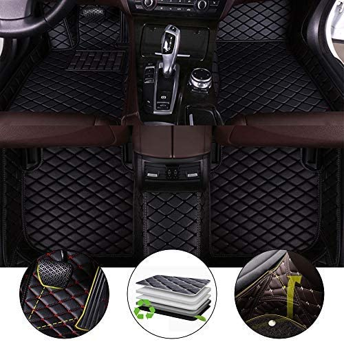 All Weather Floor Mat for Toyota Premio 2002-2013 3D Full Protection Car Accessories Black 3 Piece Set