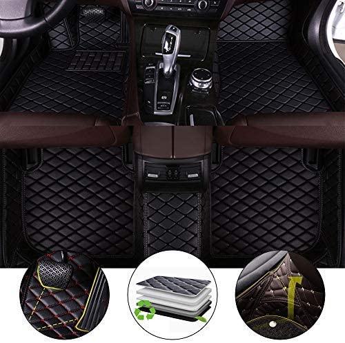 All Weather Floor Mat for 2012-2014 Chrysler 300C Sedan Full Protection Car Accessories Black 3 Piece Set