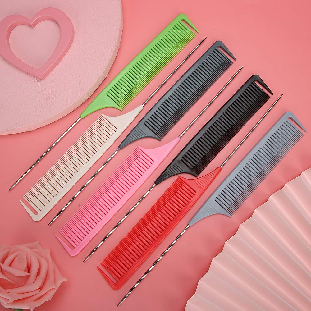 Hair Styling Combs Hair Cutting Comb Styling Comb, Fine Tooth Comb, For Hair Styling For Back Combing Hair Coloring Parting