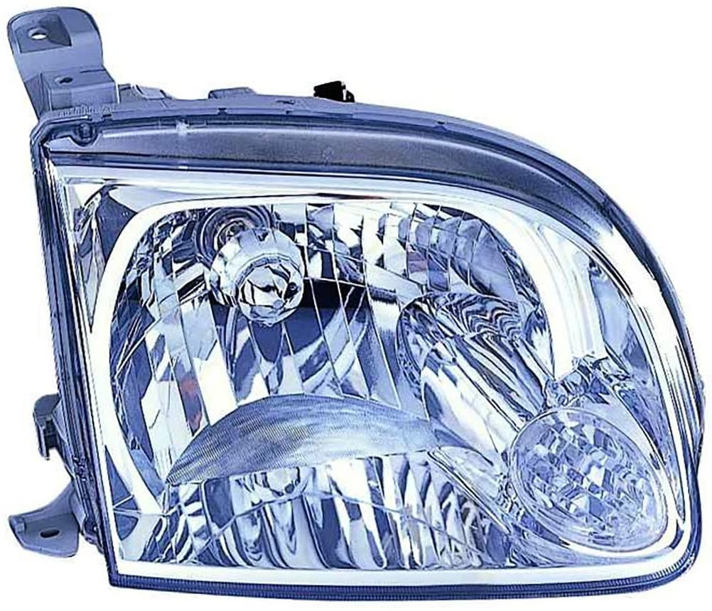 For Toyota Tundra 05-06 Headlight Assembly Regular Cab,Access Cab Passenger Side (DOT Certified)