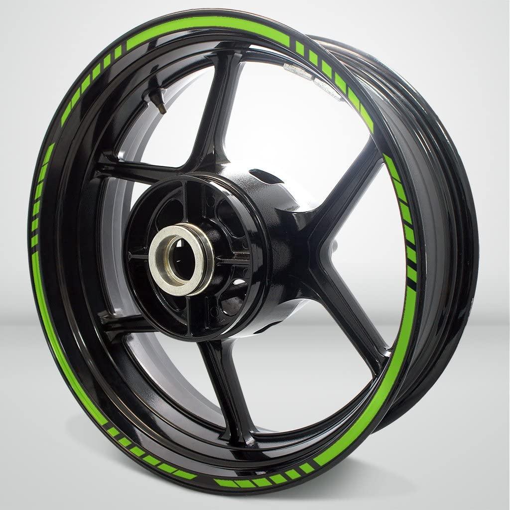 Matte Green Titan Outer Rim Liner Stripe for Ducati Monster