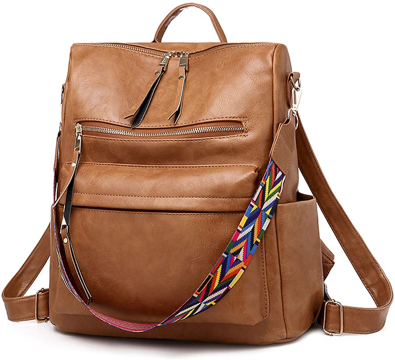 Women Backpack Purse Convertible Daypack Fashion Designer Travel Casual Shoulder Bag