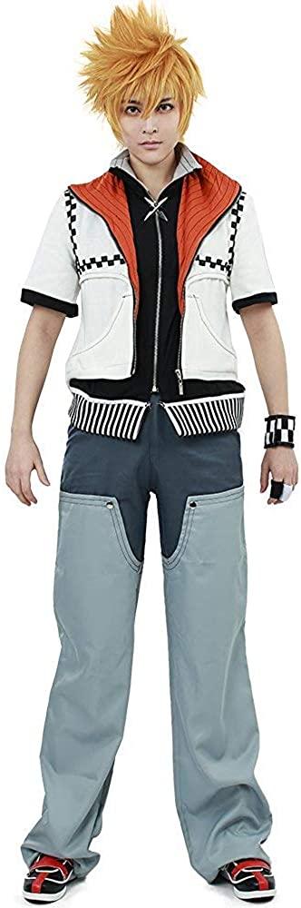 CosplayLife Kingdom Hearts 2 Roxas Cosplay Costume for Men
