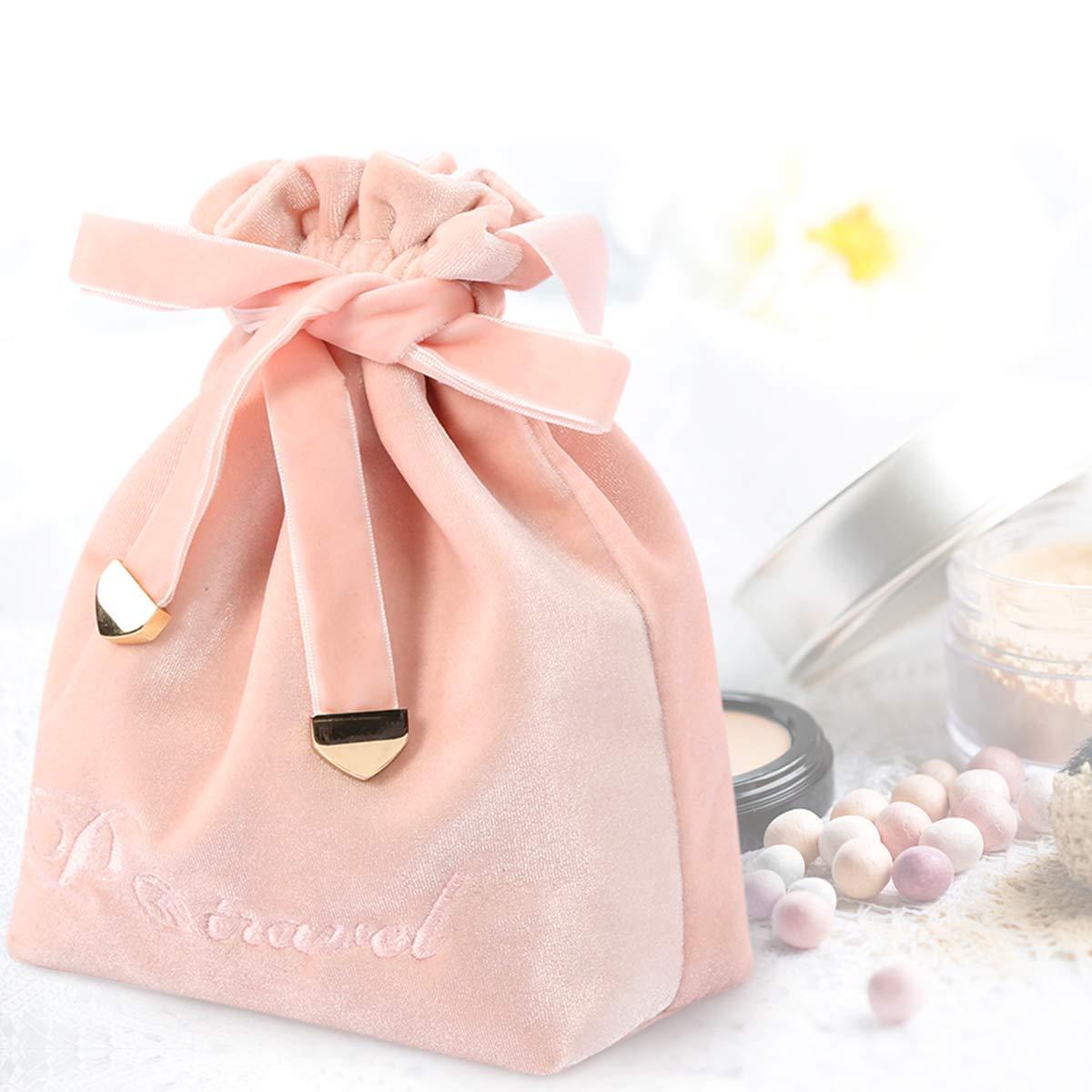 Cosmetic bag travel bag, large capacity portable cosmetic bag, lazy cosmetic bag storage bag can hold toiletries