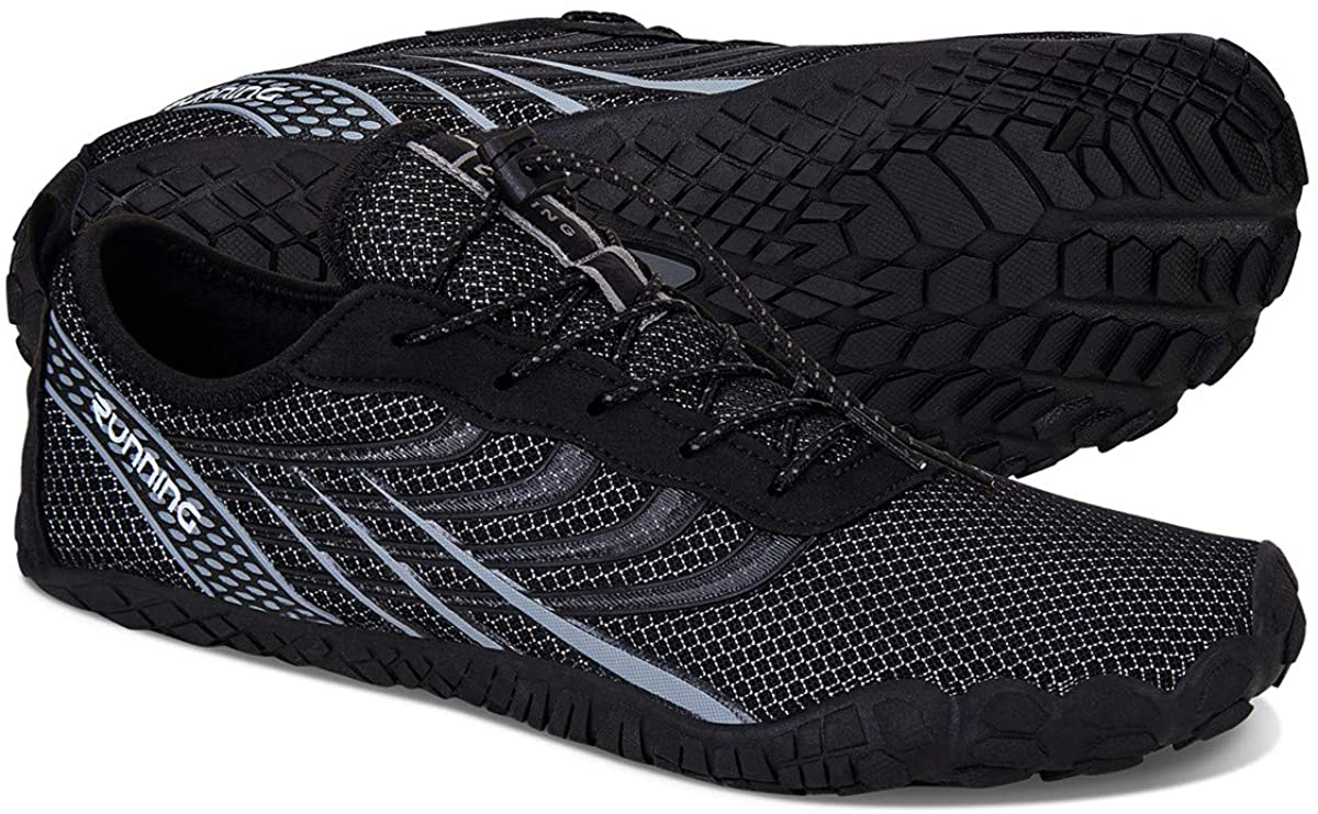 WateLves Men's and Women's Water Shoes | Barefoot Trail Runner | Wide Toe Box