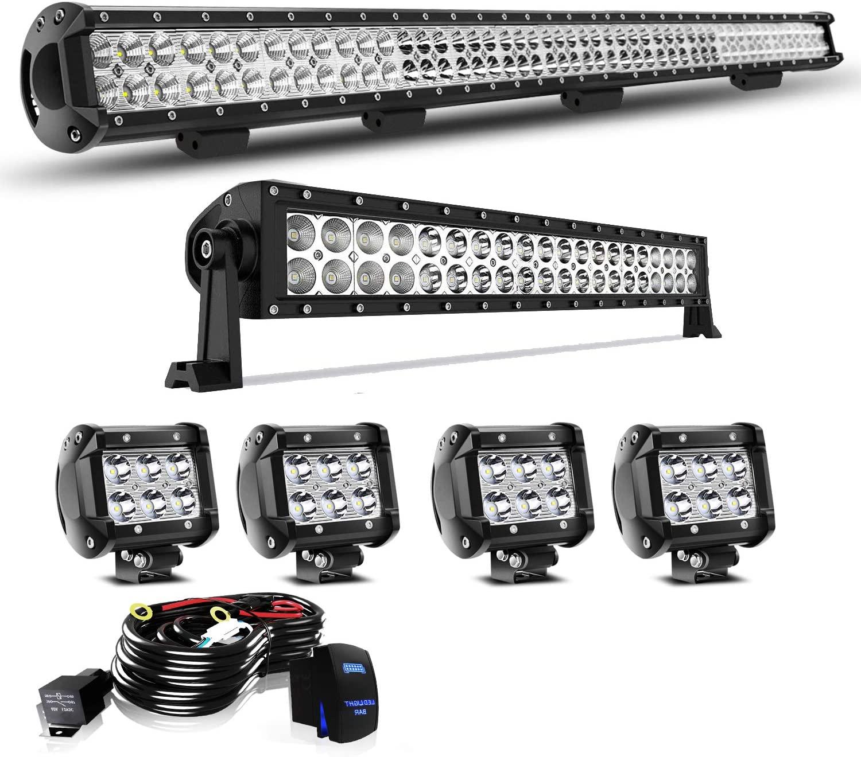 KEENAXIS Compatible with Truck Wrangler Polaris Ranger ATV SUV Cars LED Light Bar 44