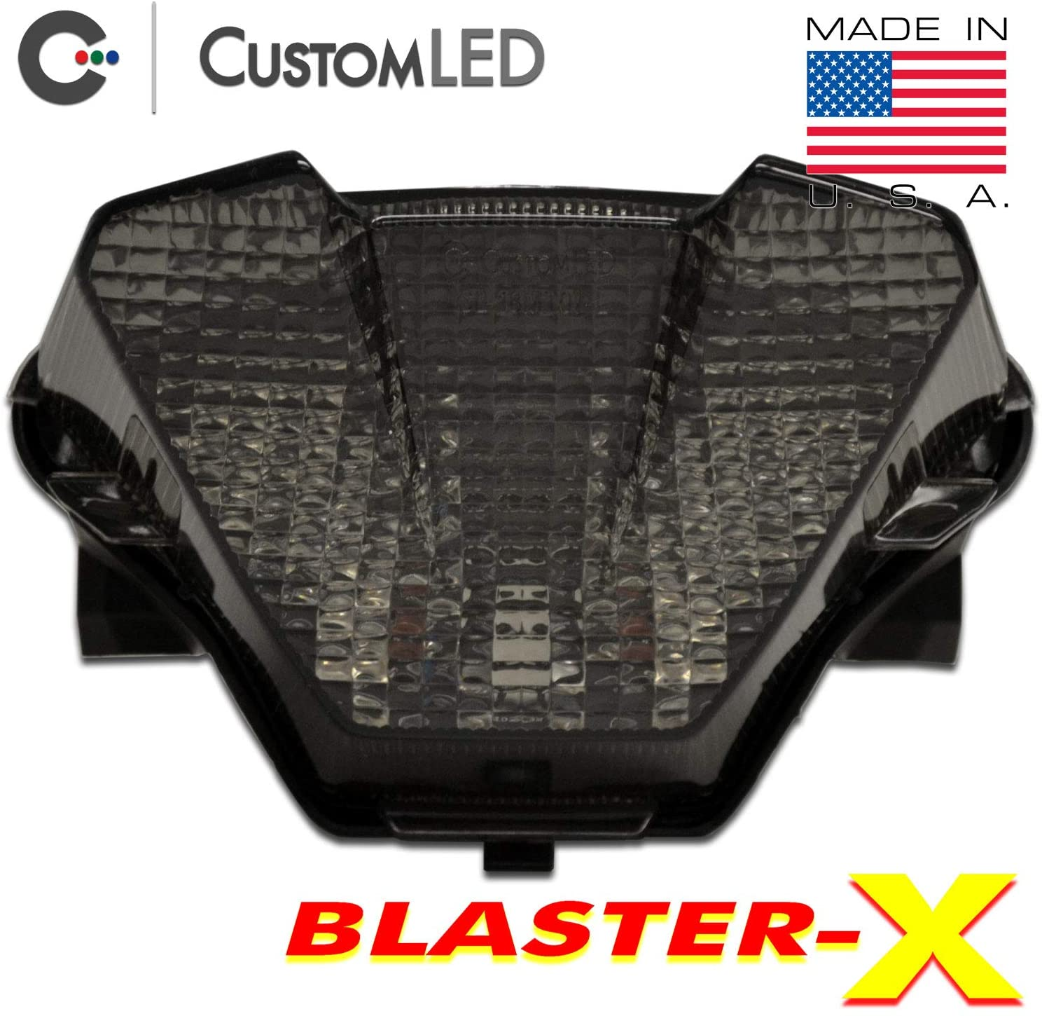 2018-2020 Yamaha MT-07 Blaster-X Integrated LED Tail Light - Smoked Lens