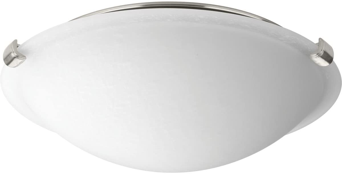 Progress Lighting P350055-009-30 LED Dome Brushed Nickel One-Light Flush Mount