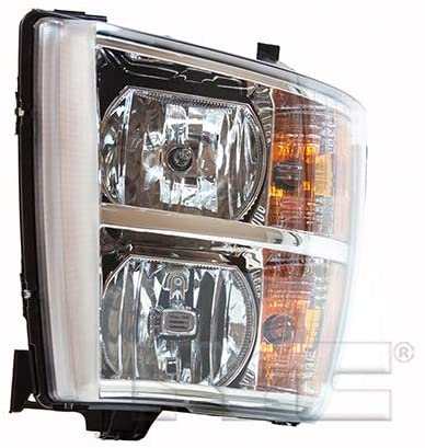 CarLights360: For 2011 2012 2013 Chevy Silverado 3500 Headlight Assembly Passenger Side (Right) CAPA Certified w/Bulbs - Replacement for GM2503280