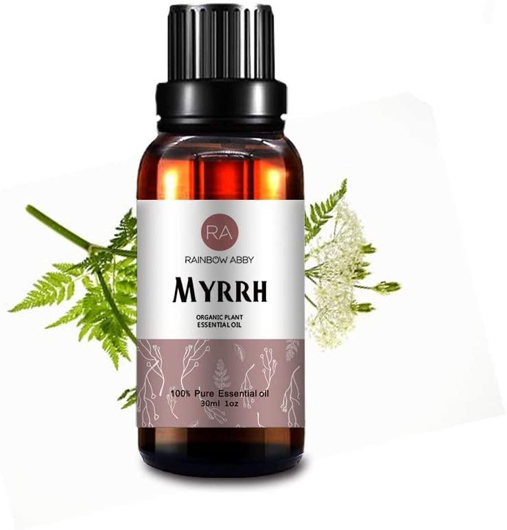 Myrrh Essential Oil 30ml (1oz) - 100% Pure Therapeutic Grade for Aromatherapy Diffuser, Massage, Skin Care