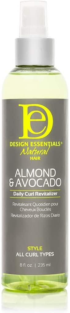 Design Essentials Natural Almond & Avocado Daily Curl Revitalizer, 8 Oz