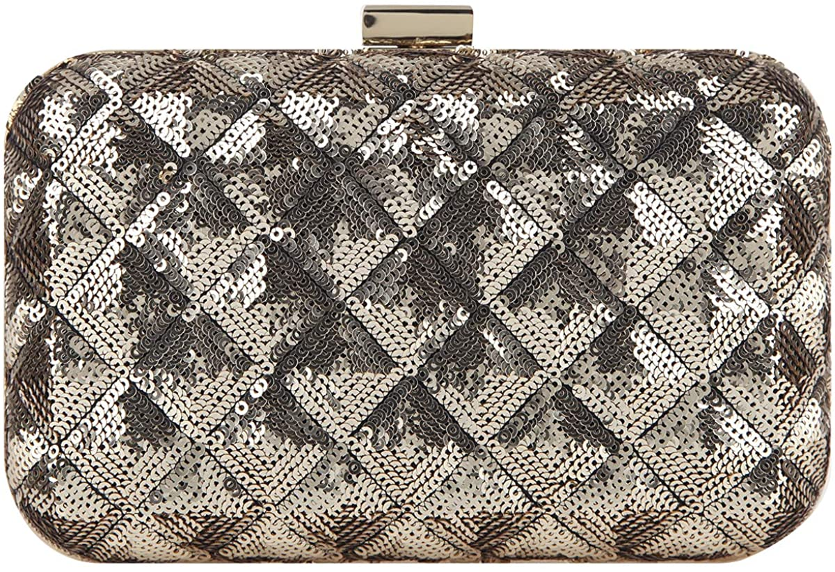 Fawziya Sequin Clutch Purses For Women Evening Bags And Clutches