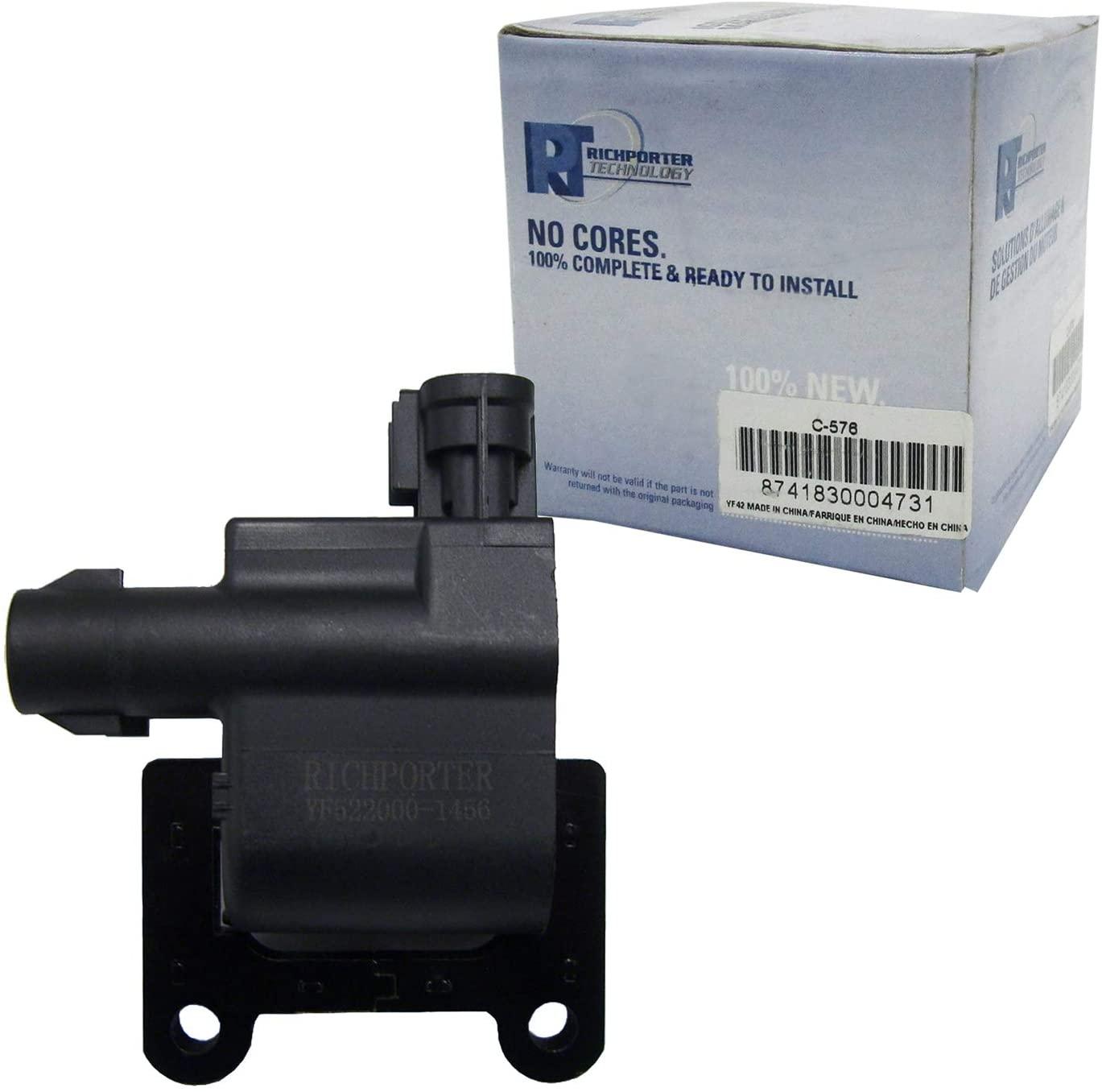 AD Auto Parts Ignition Coil C-576
