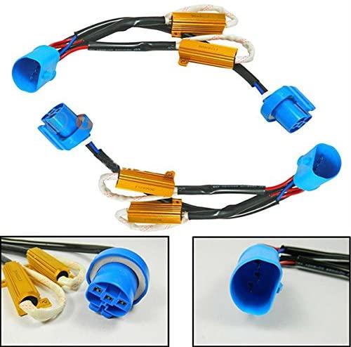 WINOMO H4 H13 9004 9007 LED Bulb Error Free Warning Canceller Load Resistor for Car