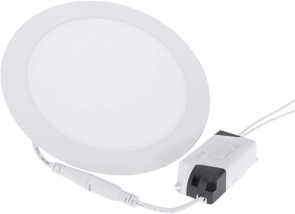 Celiy_Ship from US Warehouse LED Recessed Ceiling Panel Down Lights Bulb Slim Lamp Fixture Panel Light Home & Garden, Furniture LED Light