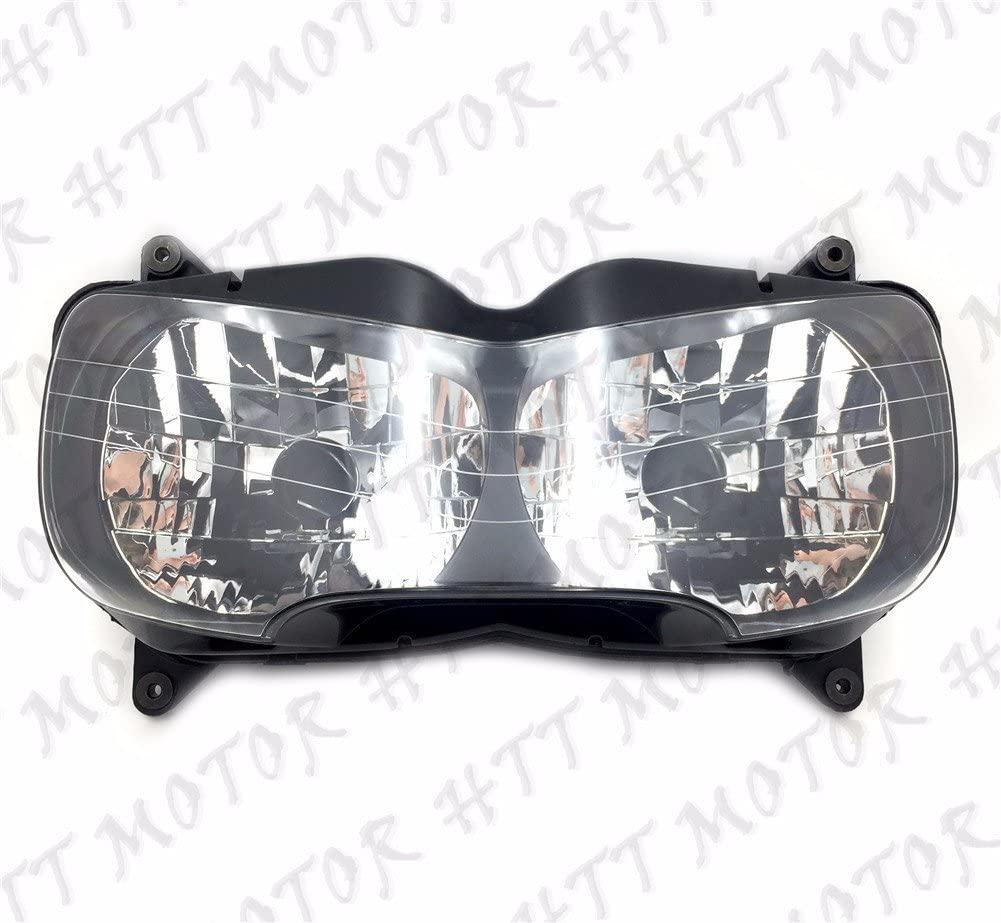 HTTMT CFP-1027-5- Front Headlight Head Light Lamp Assembly Compatible with Honda CBR900RR CBR919RR 1998-1999