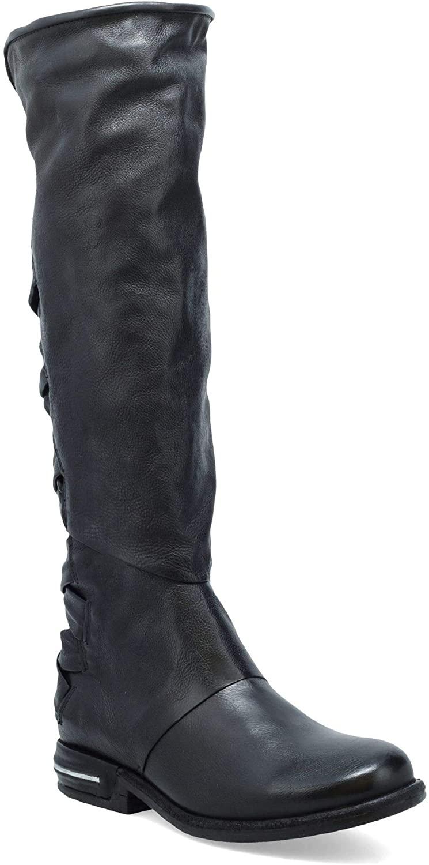A.S.98 Teagan Women's Knee-High Boot Black