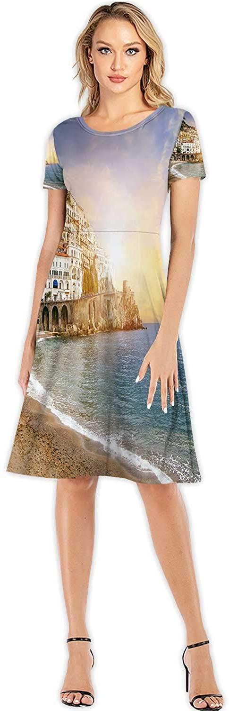 AB cat,Custom Lady Dress Elegant Casual Dresses S