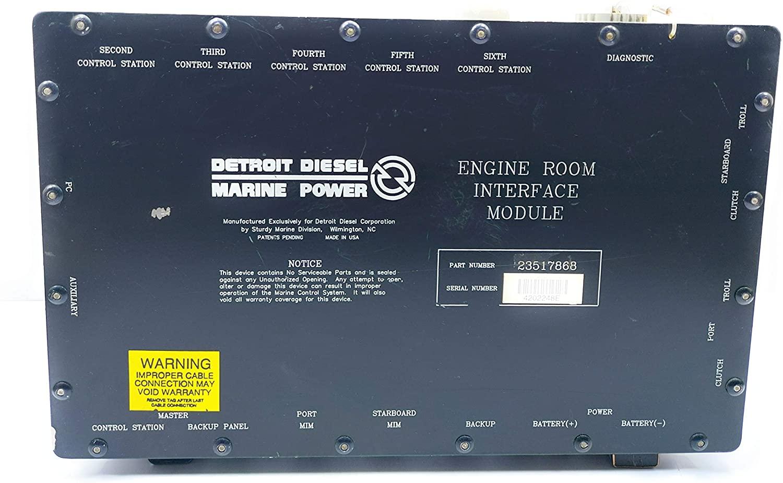 Detroit Diesel Marine Power 23517868 Electronic Gear Interface Module SN.4202224 (IMI- 1125042158935)
