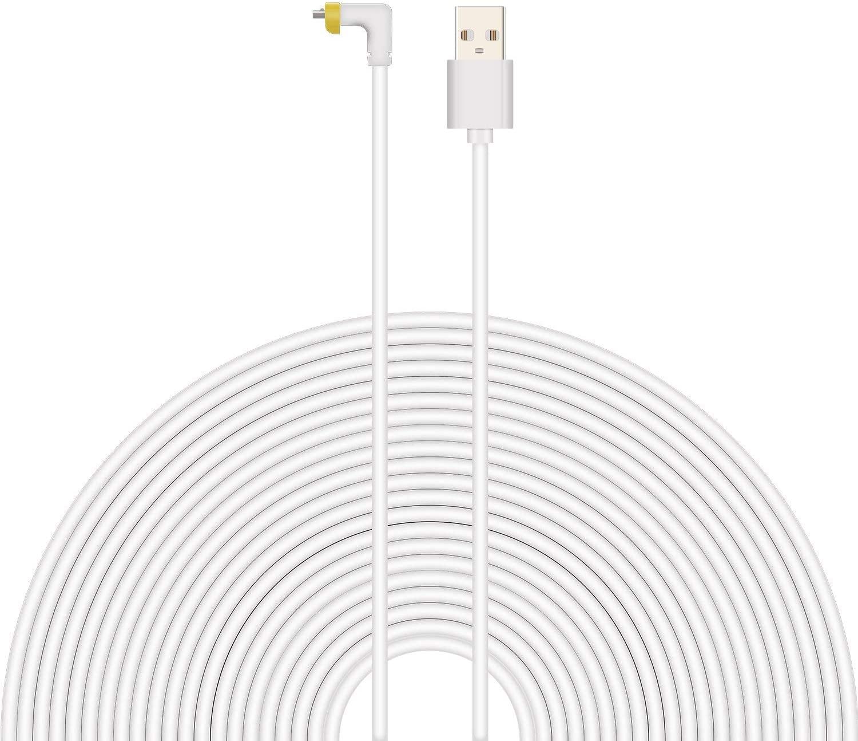 HaoyouChargingCable19.69ft6meterWaterproofChargingCableforArloProArloArloGoArloPro2White