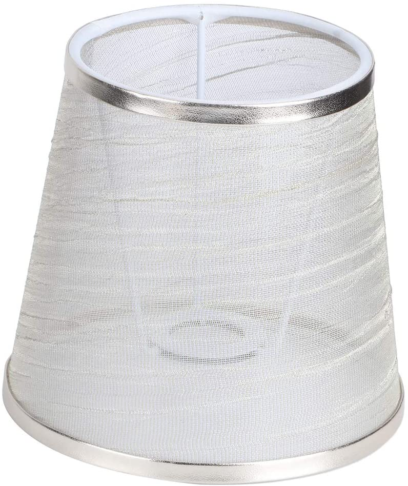 Plyisty Exquisite Workmanship Durable Cloth Lampshade, Lamp Cover, for Living Room for Bedroom Home Hotel