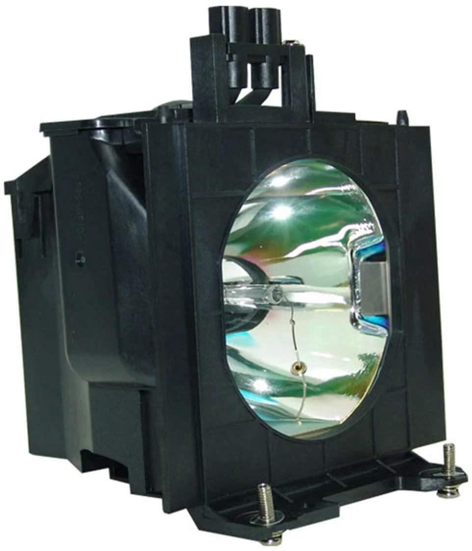 Emazne ET-LAD55 Projector Replacement Compatible Lamp with Housing Work for Panasonic:PT-D5500 Panasonic:PT-D5500U Panasonic:PT-D5500UL/PT-D5600/PT-D5600U/PT-DW5000/PT-DW5000E/PT-L5500/PT-L5600