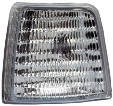 Go-Parts - for 1992 - 1997 Ford Bronco Side Marker Light Assembly / Lens Cover - Front Left (Driver) Side F2TZ 15A201 D FO2550110 Replacement 1993 1994 1995 1996