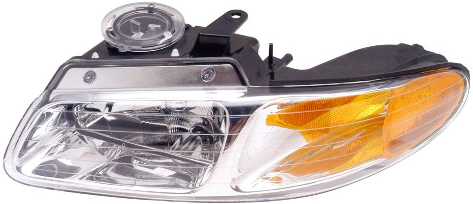 JP Auto Headlight Compatible With Dodge Chrysler Plymouth Caravan Voyager Town & Country 2000 Driver Left Side Headlamp