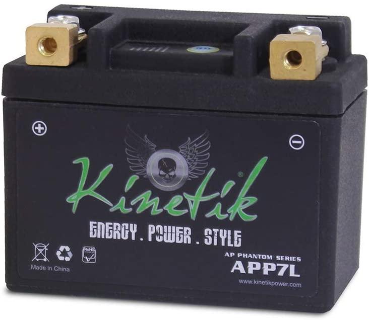 LiFePO4 12V 7-9ah 120CCA Replacement Battery for Yuasa YB12A-A