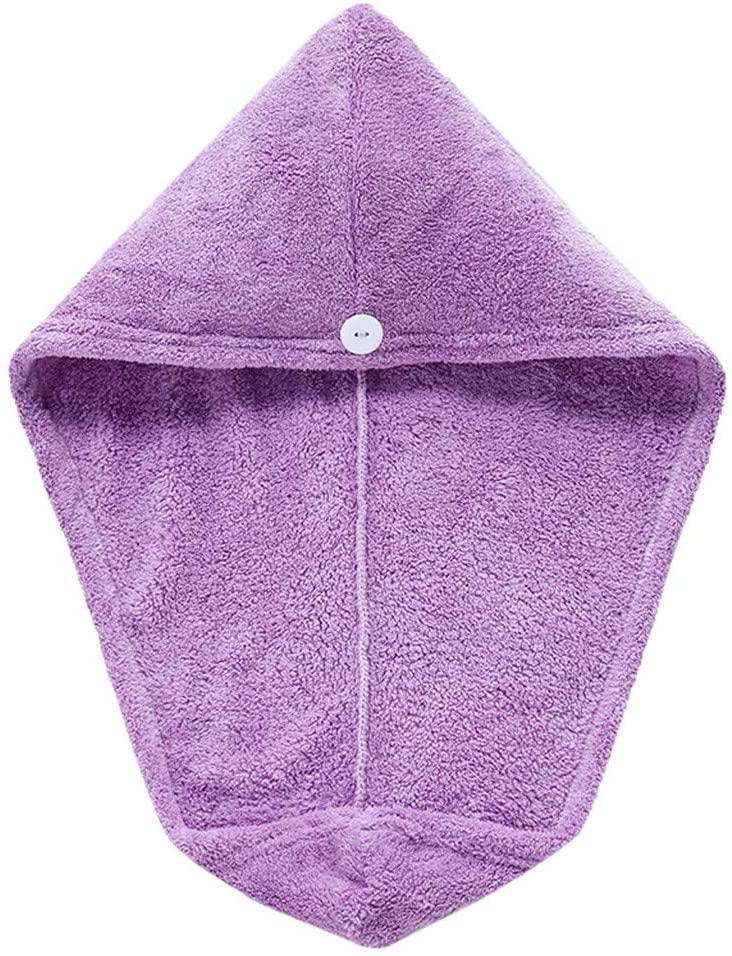 Lemoning Towel Cap Quick Dry Hair Wrap Microfiber Cap Bathing Magic Drying Hat