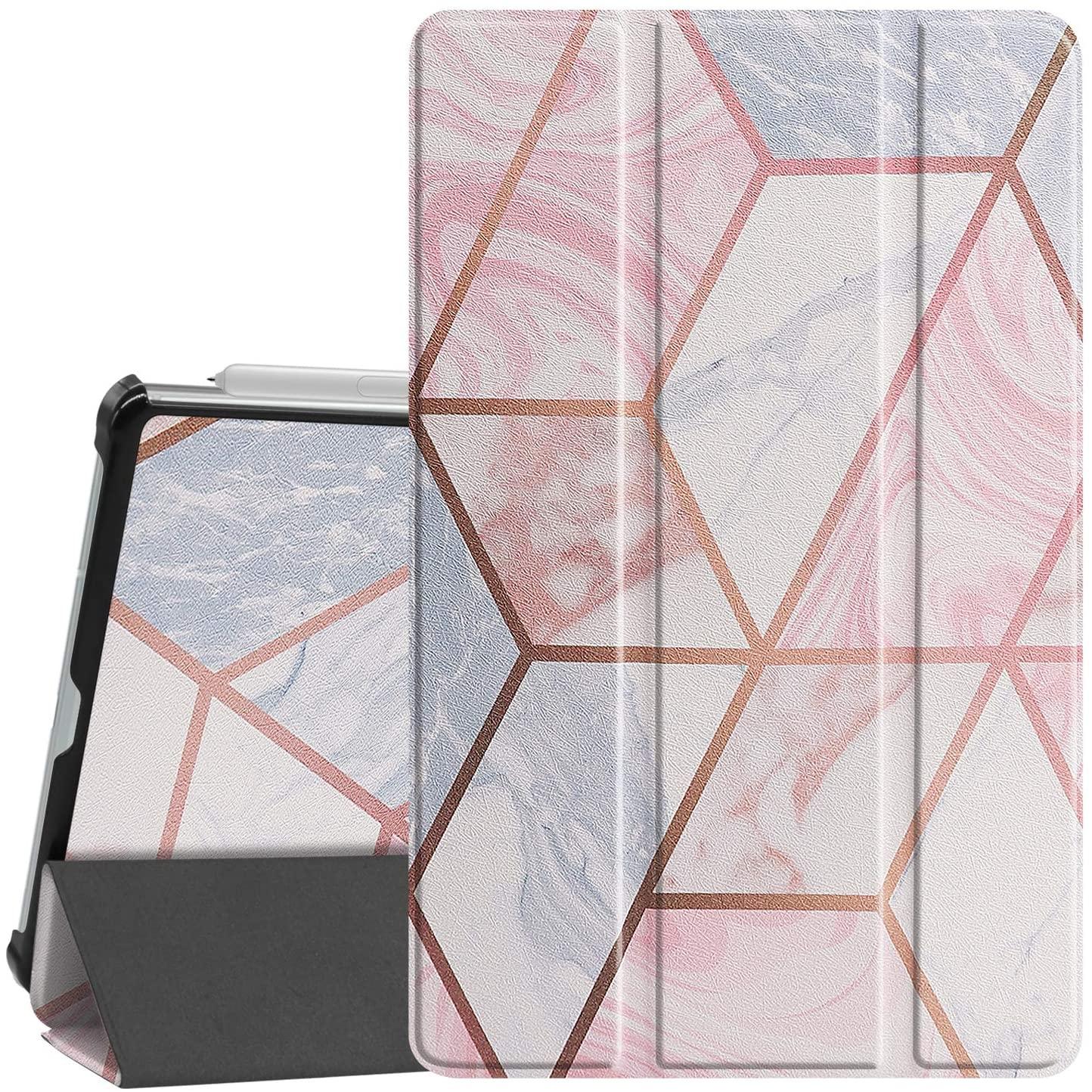 Gylint Samsung Galaxy Tab S6 Lite Case, Smart Case Trifold Stand Slim Lightweight Case Cover with Auto Sleep/Wake for Samsung Galaxy Tab S6 Lite 10.4 Inches SM-P610 (Wi-Fi); SM-P615 (LTE) Geometric