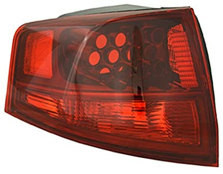 Rareelectrical NEW OUTER LEFT TAIL LIGHT COMPATIBLE WITH ACURA MDX 2010-2013 AC2818117 33551-STX-A11 33551STXA11