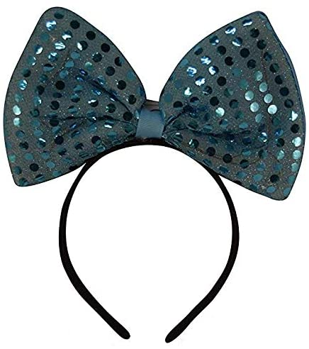 The Electric Mammoth Light Up Flashing Sequin Headband LED Party Accessory