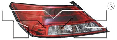 For 2012-2014 Acura TL Tail Light Driver Side Bulbs Included AC2800116 - Replaces 33550-TK4-A11 ;