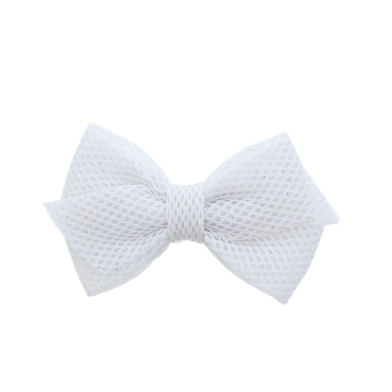 Fun Scuba Hair Bow Small-White