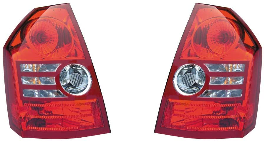 KarParts360: For 2008 2009 2010 CHRYSLER 300 Tail Light Assembly Pair Driver and Passenger Side w/Bulbs Replaces CH2818117 CH2819117