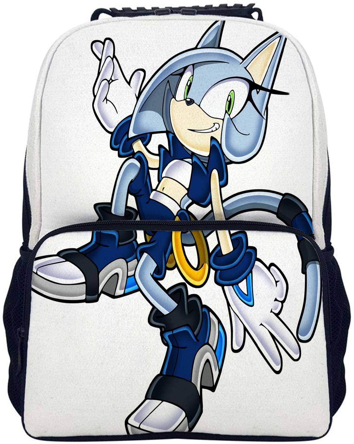 Sonic Backpack for Boys Teens Girls Boys Schoolbag