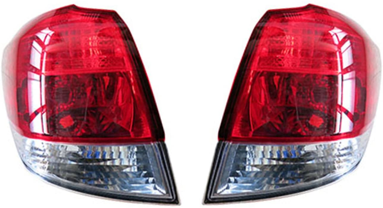 Rareelectrical NEW OUTER TAIL LIGHT PAIR COMPATIBLE WITH SUBARU OUTBACK 2013 2014 SU2805105 SU2804105 84912AJ10A 84912AJ09A