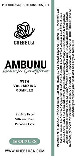 Ambunu Leave-in Conditioner (4 oz)