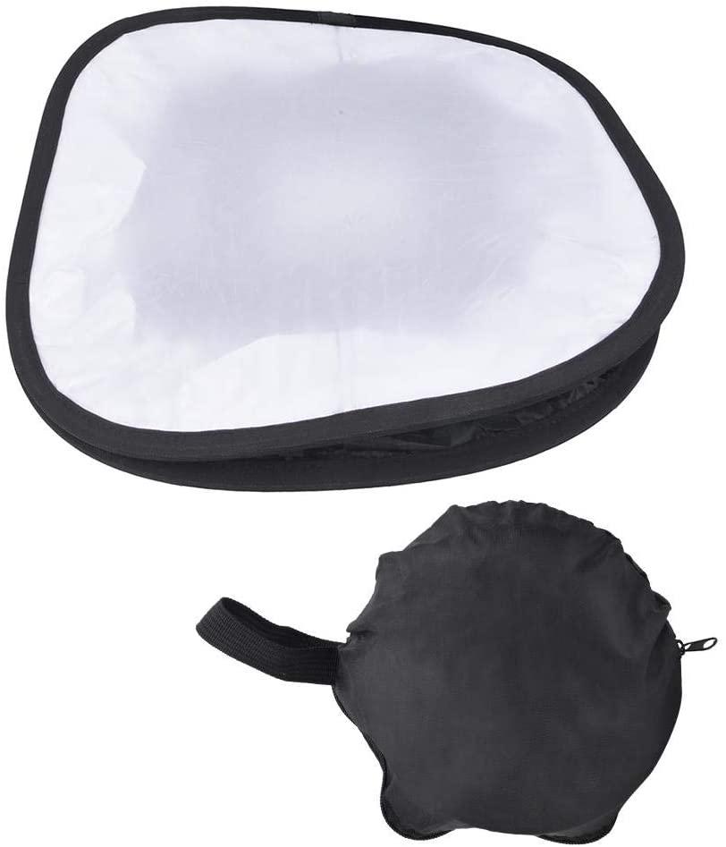 LED Panel Light Softbox, Portable LED Lightsphere Photography Soft Fill Light Cover/Foldable Camera Diffuser Honeycomb Softbox, Black