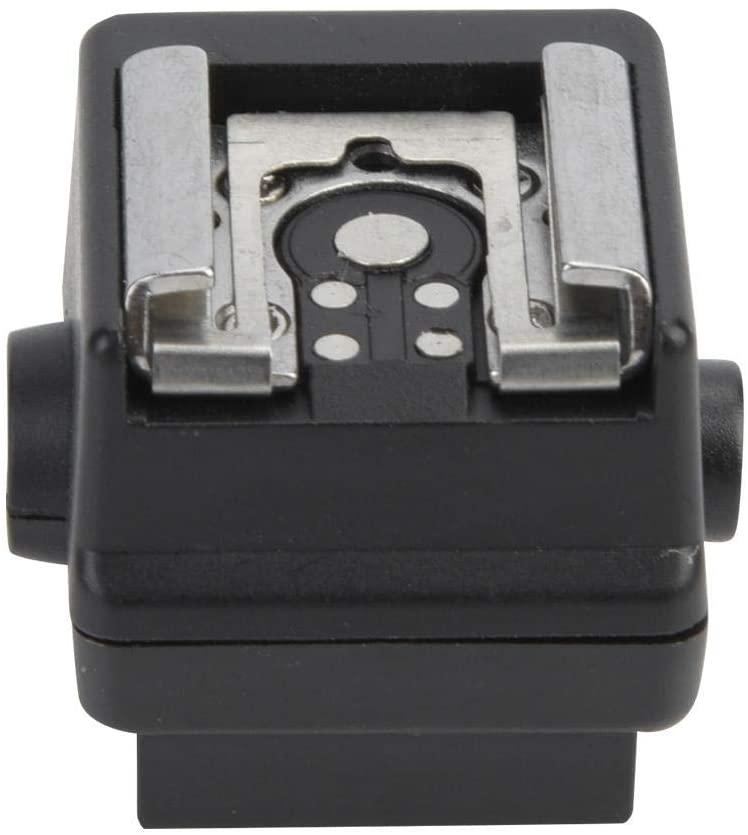 Bindpo Hot Shoe Adapter,Mini Plastic Hot Shoe Adapter Converter Flash Camera Accessory Connect The Camera&Flash for Sony