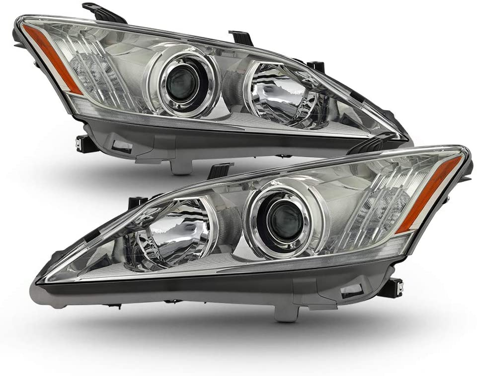 ACANII - For 2010 2011 2012 Lexus ES350 [HID/Xenon w/AFS Models Only] Headlights Headlamps Driver & Passsenger Side