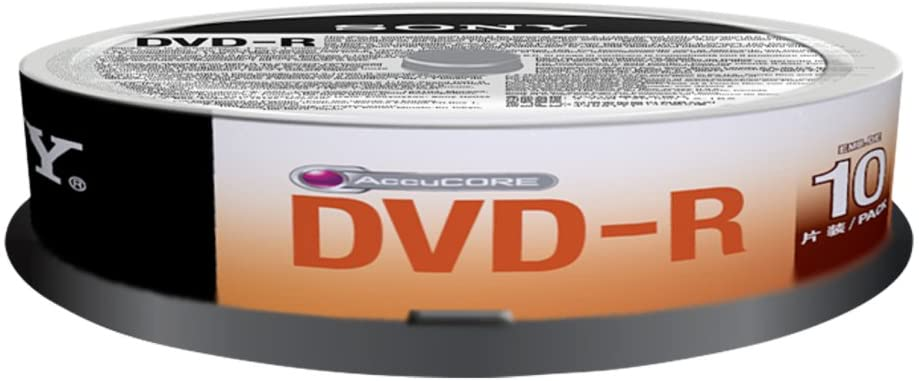 Sony 10DMR47SP 10 x DVD-R 4.7GB Spindle, 10DMR47SP (Spindle)