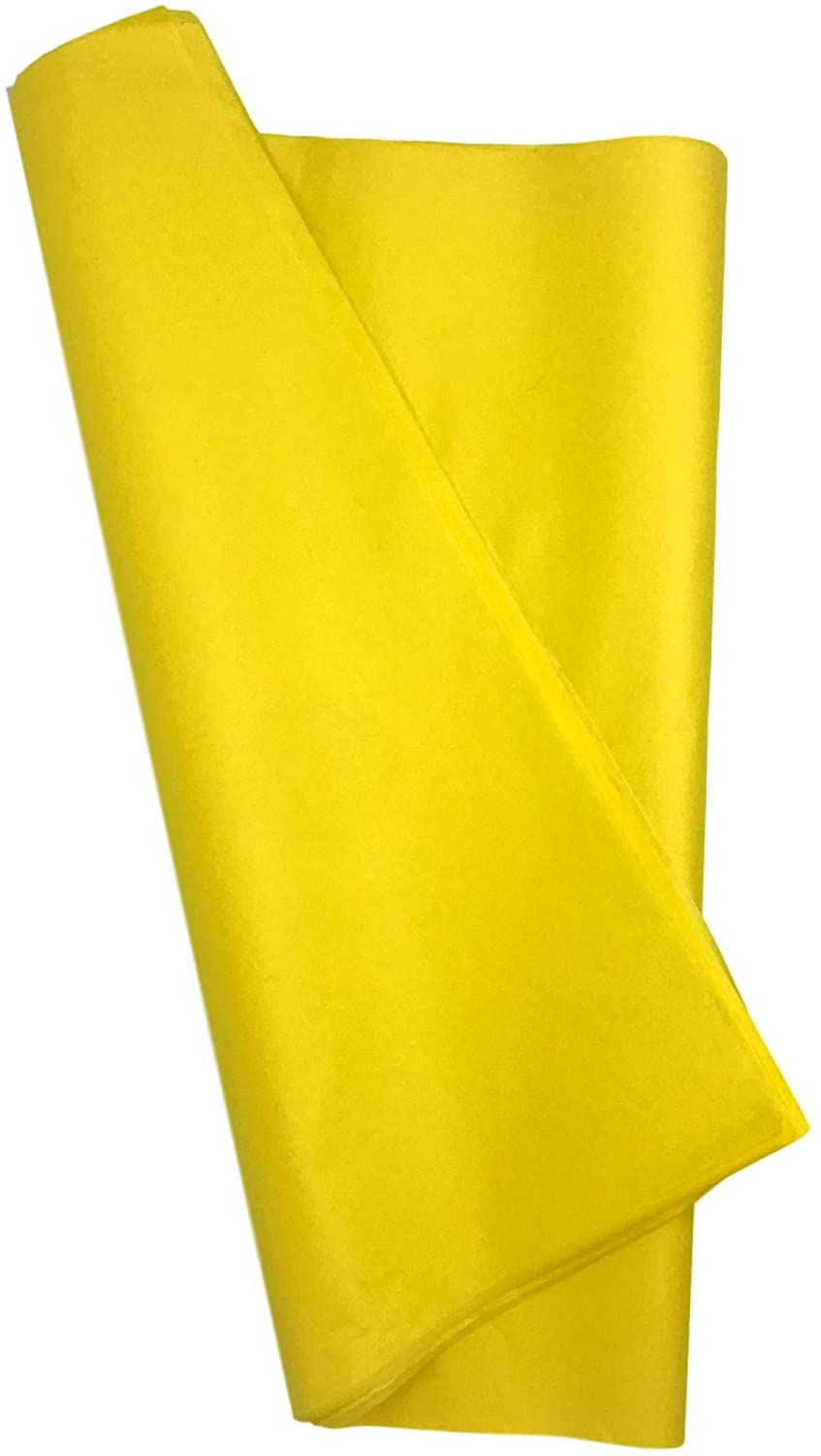 7MB Premium Art Tissue Paper - Perfect Gift Wrap Tissue Paper 20 x 30 Inch Acid-Free! - 100 Sheet Value Pack Papel China for Art Craft Floral Birthday Party Festival Gift Wrapping (Yellow)