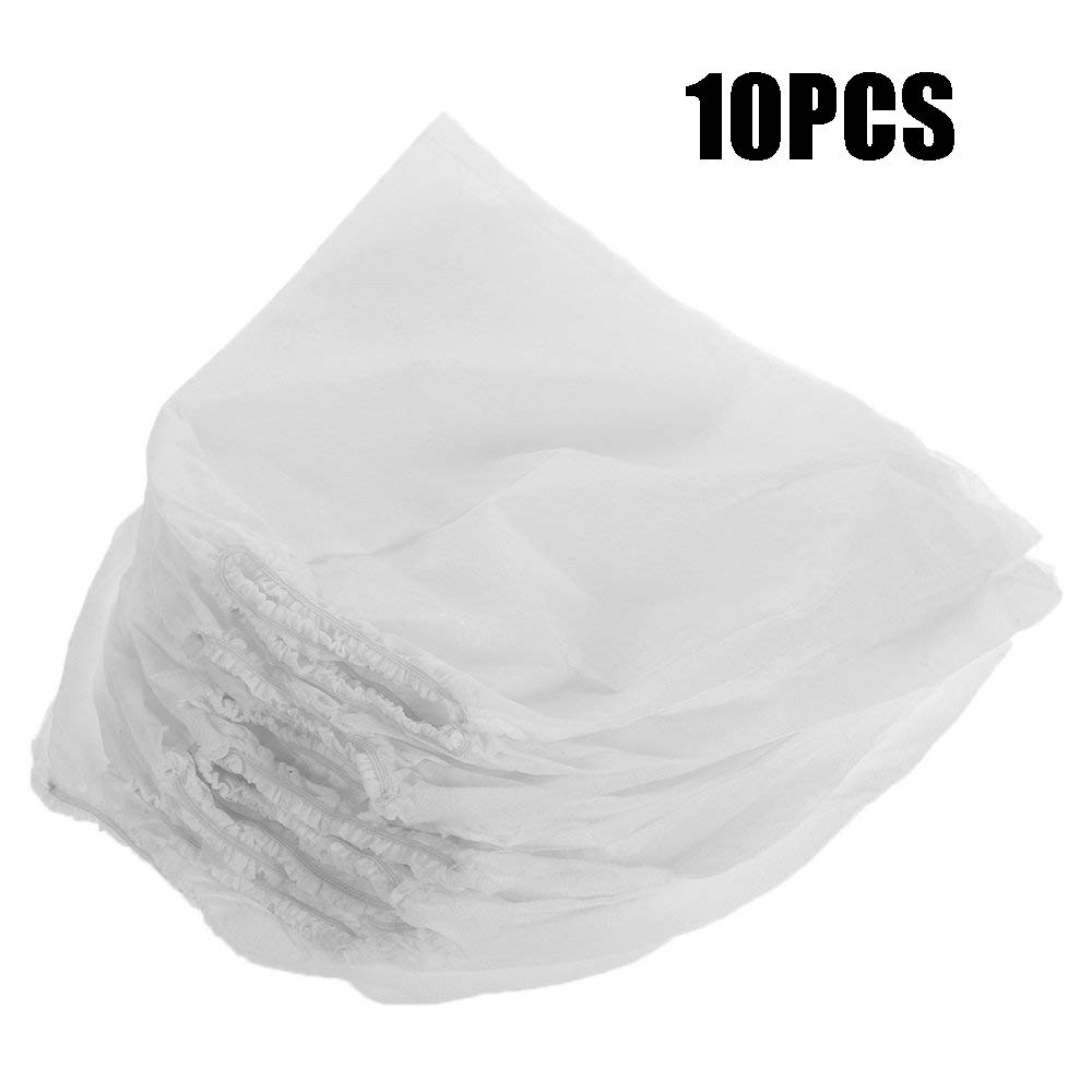 10pcs Non-woven Replacement Bags, Nail Art Dust Suction Collector Bag, Nail Art Tool, Universal Nail Dust Storage Bag, Vacuum Cleaner Bag