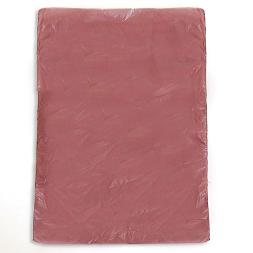 High Density Plastic Bag 6.5x9.5 Inches in Burgundy - Box of 1000