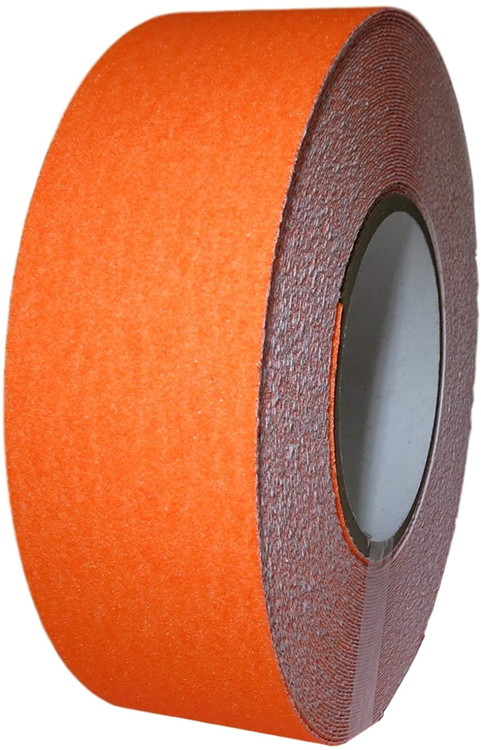T.R.U. NST-20 Non-Skid Tape 60 ft. length Safety Way 60 Grit Anti Slip Traction Tape 32 Mil No Slip (4 in. x 60 ft. (100mm wide), Fluorescent Orange)