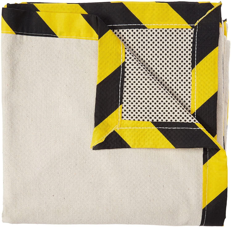 CoverGrip Heavy Duty Safe Path 10 Oz Canvas Safety Drop Cloth, 4' x 15'