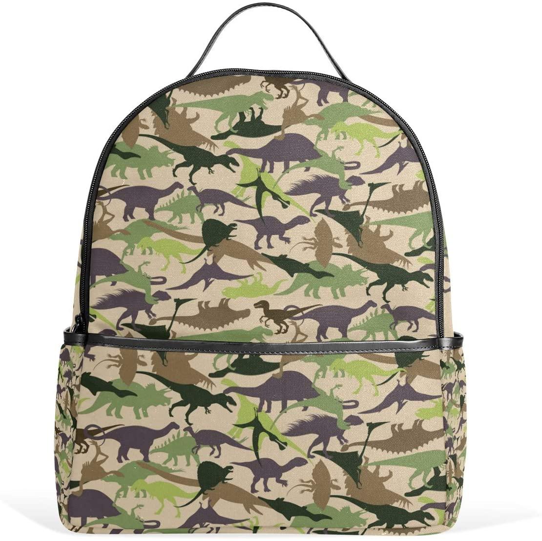 Kids' School Backpack Dinosaurs Set Bookbag for Boys Girls Lightweight Casual Travel Bag Large Capacity Daypack