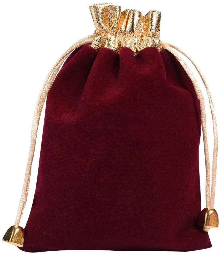isilky Drawstring Pouch Bag 10pcs 1216cm Velvet Wedding Favor Gift Bags